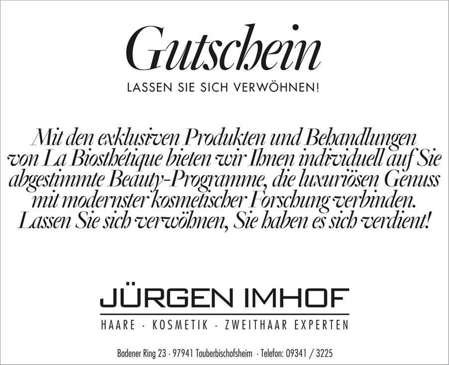 Friseur Tauberbischofsheim Gutschein